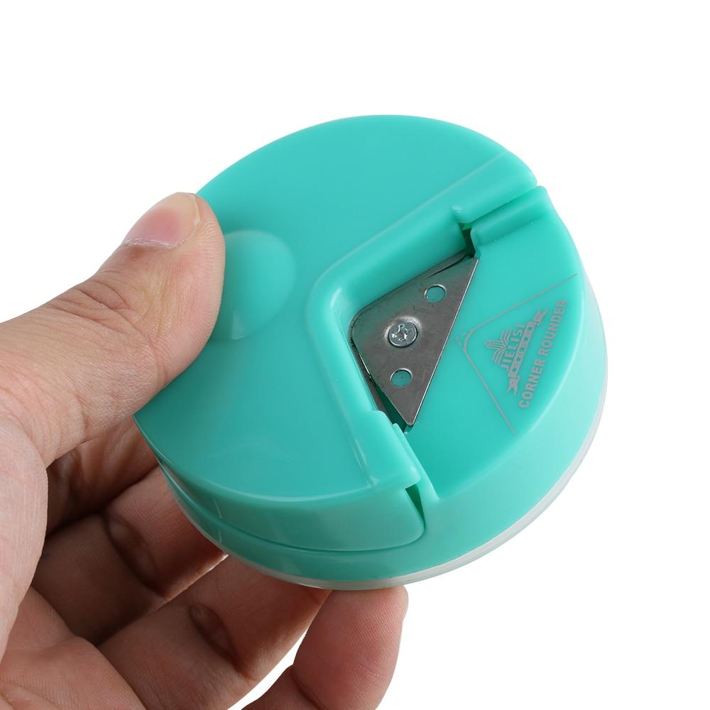 Cortador redondo de esquina R4 de 4mm, herramienta para recortar fotos artesanías, DIY para álbum de recortes, papelería, suministros de oficina