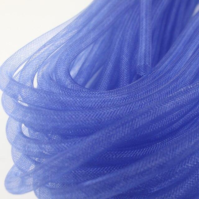 [IuBuFiGo] Free Shipping 8mm Plain Tubular Crinoline Tube Crin Horsehair Braid Trimming 90yard/lot