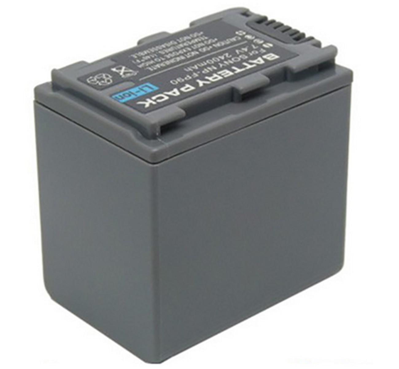 Paquete de baterías para Sony DCR-DVD92E, DCR-DVD92, DCR-DVD103, DCR-DVD203, DCR-DVD403, DCR-DVD703, DCR-DVD803
