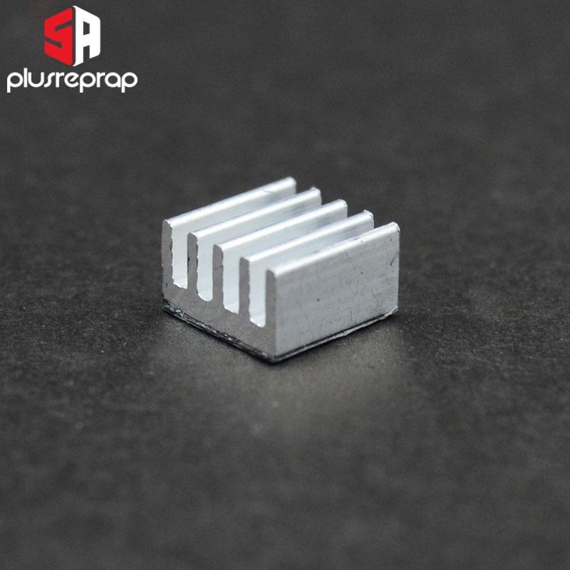 6 шт./лот A4988 алюминиевый теплоотвод/ радиатор шагового привода  радиатор для 3D-принтера Запчасти 3d принтер экструдер