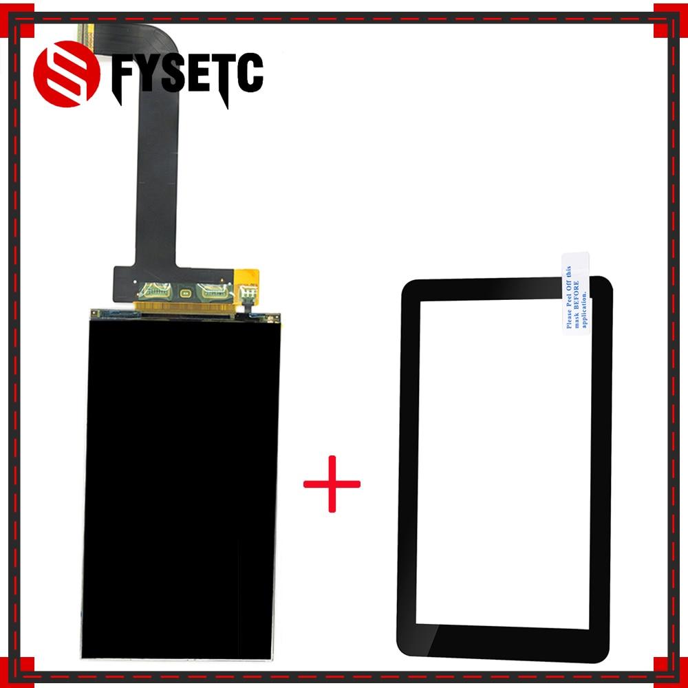 شاشة 5.5 بوصة lcd 2560x1440 2K LS055R1SX03 + واقيات زجاجية لطابعة فوتون وانهاو D7 ثلاثية الأبعاد المعالجة بالضوء VR العارض