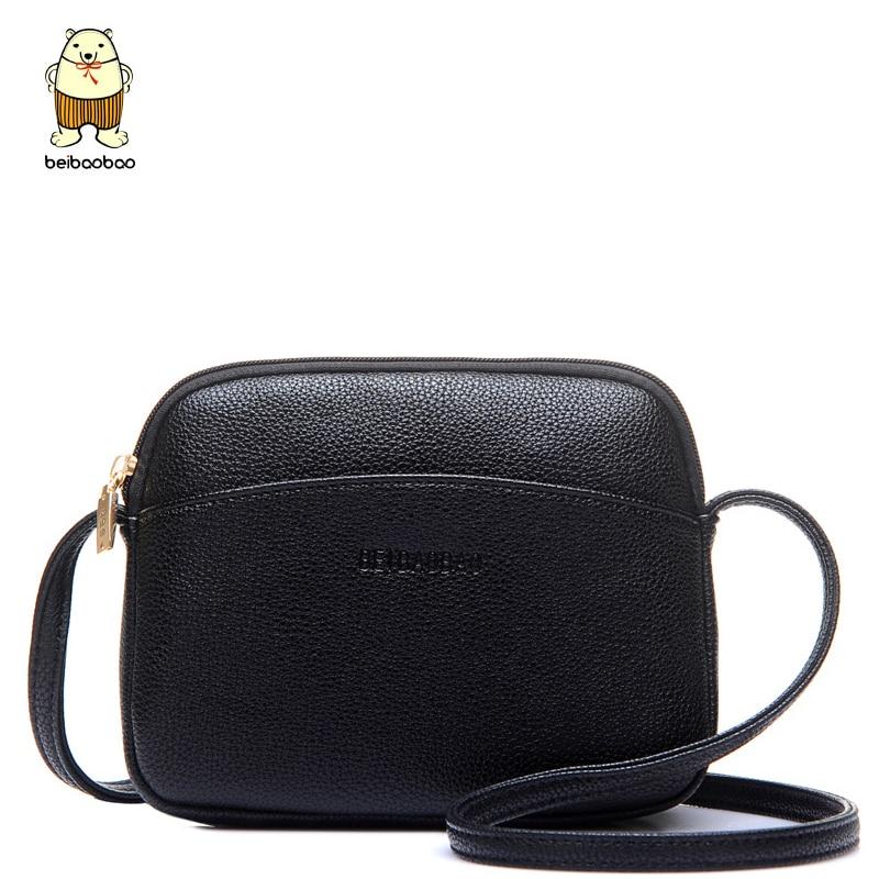 Beibaobao, bolsos cruzados de moda para niñas, señoras, mujeres, bolsos de hombro, bolsos de mano de estilo joven, bolsas de mensajero pequeñas para mujeres B010