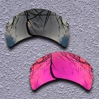 black purple red polarized replacement lenses for oakley flak 2 0 xl sunglasses