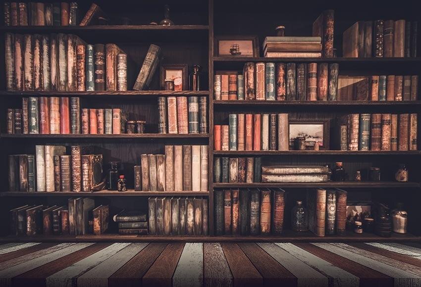 Fondos Fotografia de estudio Fotografia libros de vinilo estante de fotografía fondos para fotografía de estudio de fotografía accesorios lv-607