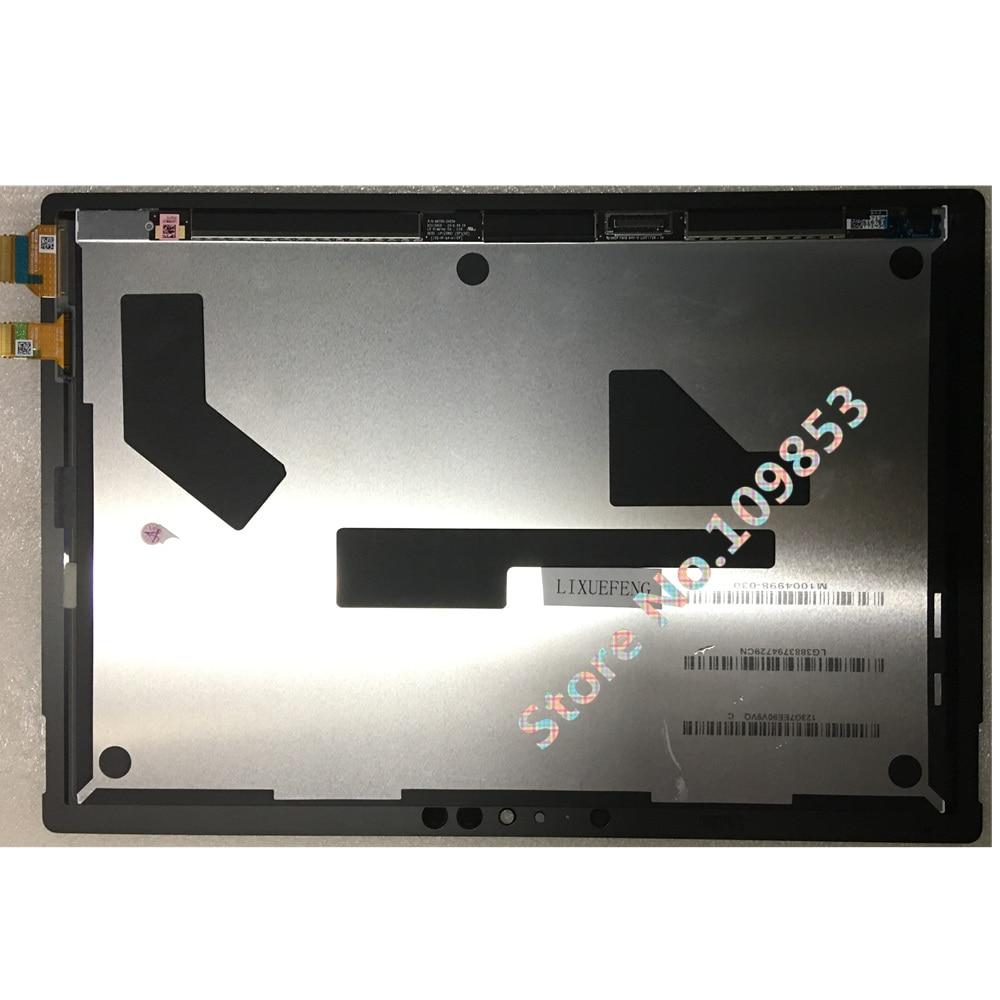 "Original para Microsoft Surface Pro 5 1796 12,3 ""LCD LED pantalla táctil + Montaje del digitalizador pro5"