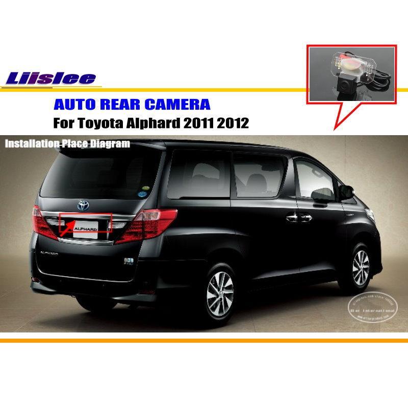 Автомобильная камера заднего вида для Toyota Alphard 2011 2012 Автомобильная камера заднего вида Автомобильные аксессуары
