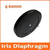 100pcs 4-60MM Adjustable Iris Diaphragm Aperture Condenser Light Regulator 18 Blades for Digital Camera Microscope Condensator