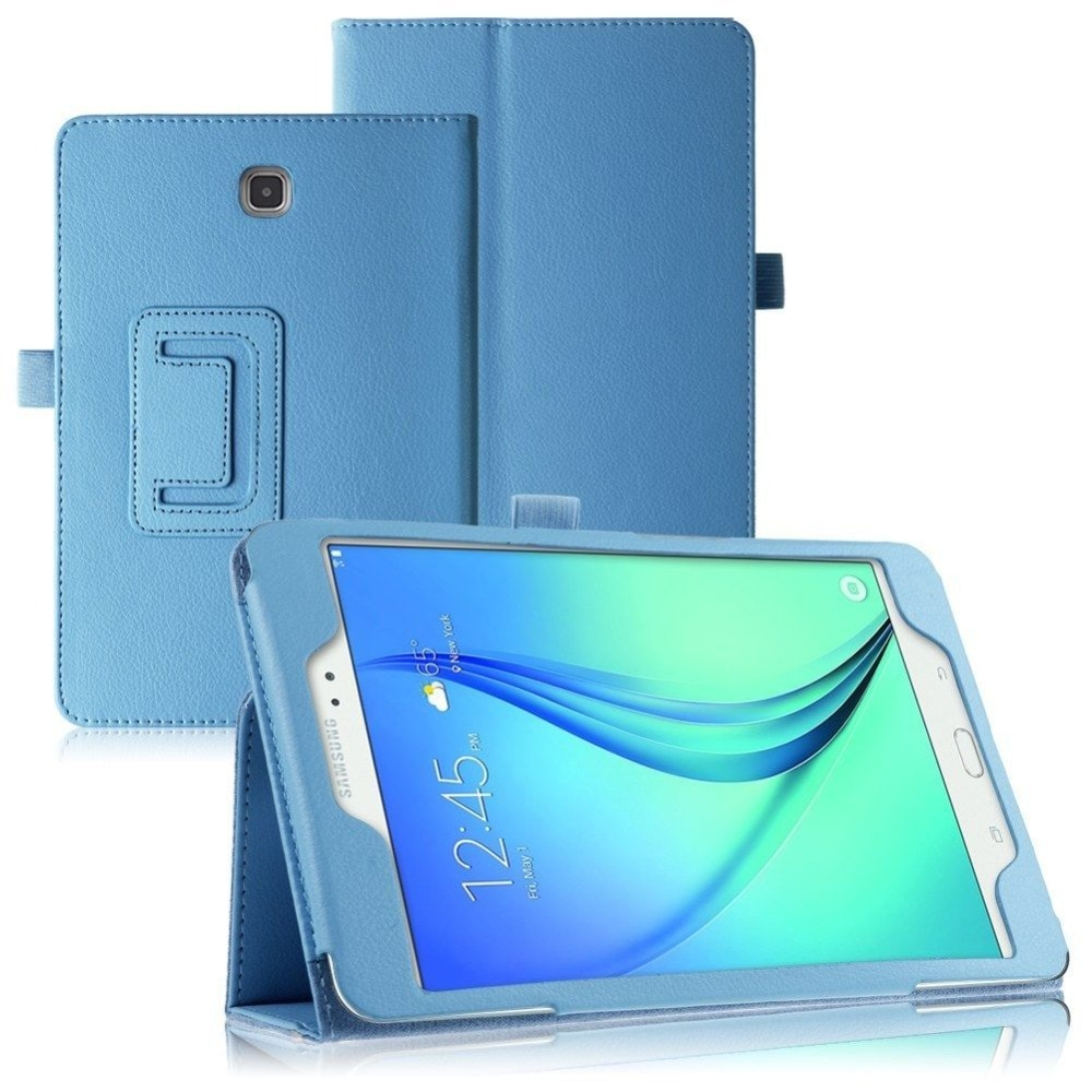 Откидной Чехол из искусственной кожи для Samsung Galaxy Tab A 8,0 T350 T355 P350 P355, чехол для планшета, складной чехол-книжка с подставкой, умный чехол