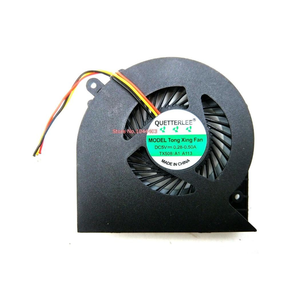 New cpu Laptop cooling fan para toshiba Satellite L850 L855 L855D L870 L870D L875 L875D MF60120V1-C570-G99 KSB06105HB (-AJ3T)