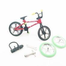1 Set Mini Finger Fahrrad Tech-Deck Flick Trix Finger Bikes Spielzeug BMX Modell Fahrrad Spielzeug Für Kinder
