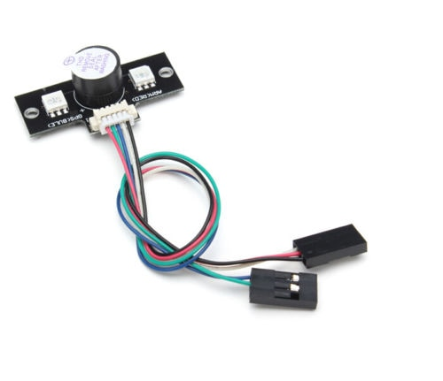 Apm flighter parts LED Highlight junta de expansión y zumbador APM 2,6 2,8 Módulo de LED externa para Dron FPV