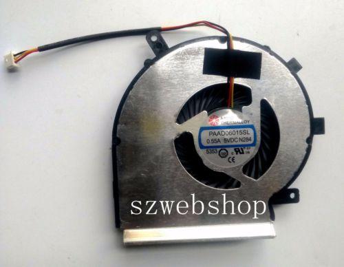 Nuevo para MSI GE72 2QD GE72 2QE GE72 2QF ventilador de ordenador portátil de refrigeración de CPU