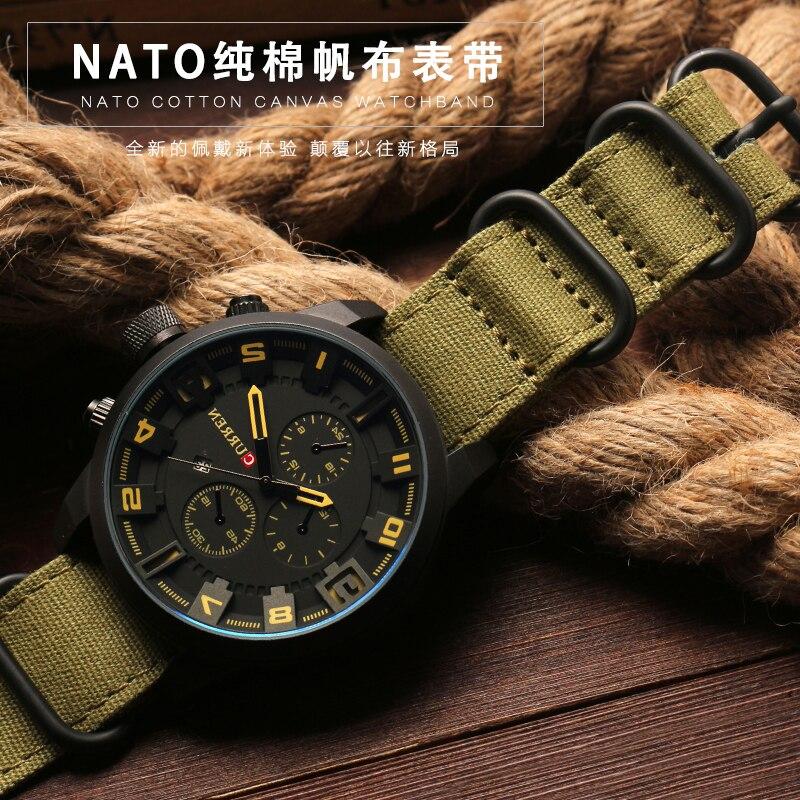 Высококачественный ремешок для часов, 20 мм, 22 мм, 24 мм, 26 мм, черный, армейский зеленый, ZULU Nato, нейлоновая парусиновая ткань, ремешок для часов с пряжкой черного и серебряного цвета