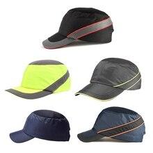 Bump Cap casco de seguridad de trabajo transpirable seguridad Anti-impacto cascos ligeros moda pantalla solar casual sombrero protector