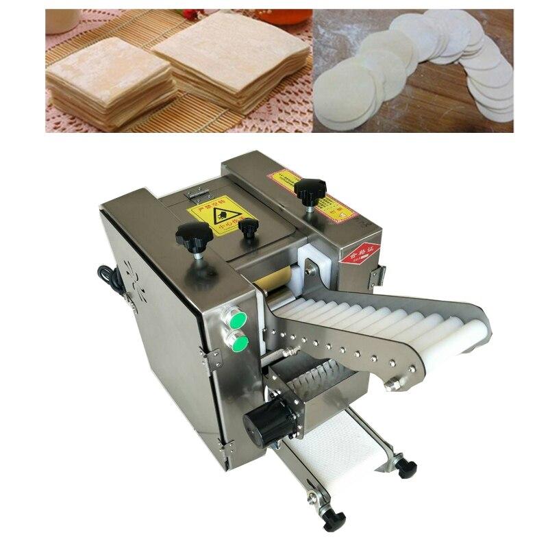 Novo estilo comercial automático samosa pele bolinho máquina envolvente