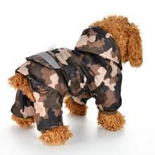 Dog Raincoat Puppy Rain Coat with Hood Reflective Waterproof Dog Clothes Soft Breathable Pet Cat Small Dog Rainwear XS - 2XL