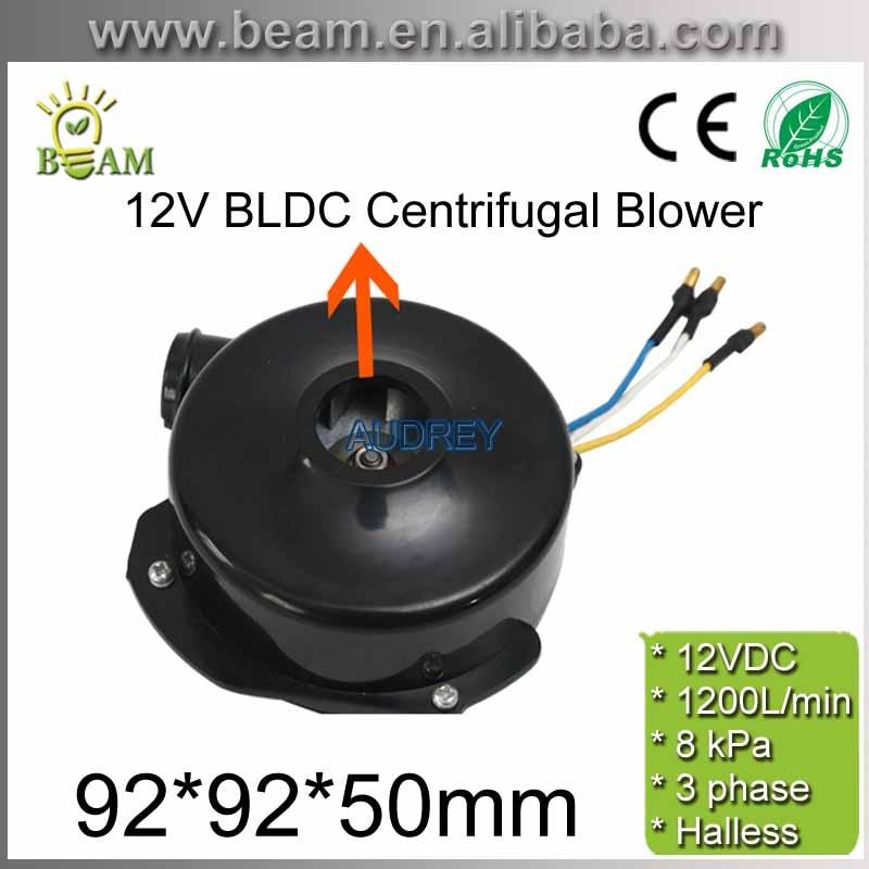 مروحة طرد مركزي كهربائية ، 12 فولت ، 800 لتر في الدقيقة ، 29800 دورة في الدقيقة ، 3 مراحل ، بدون فرش ، تيار مستمر ، BLDC ، ضغط 7 كيلو باسكال ، شحن مجاني