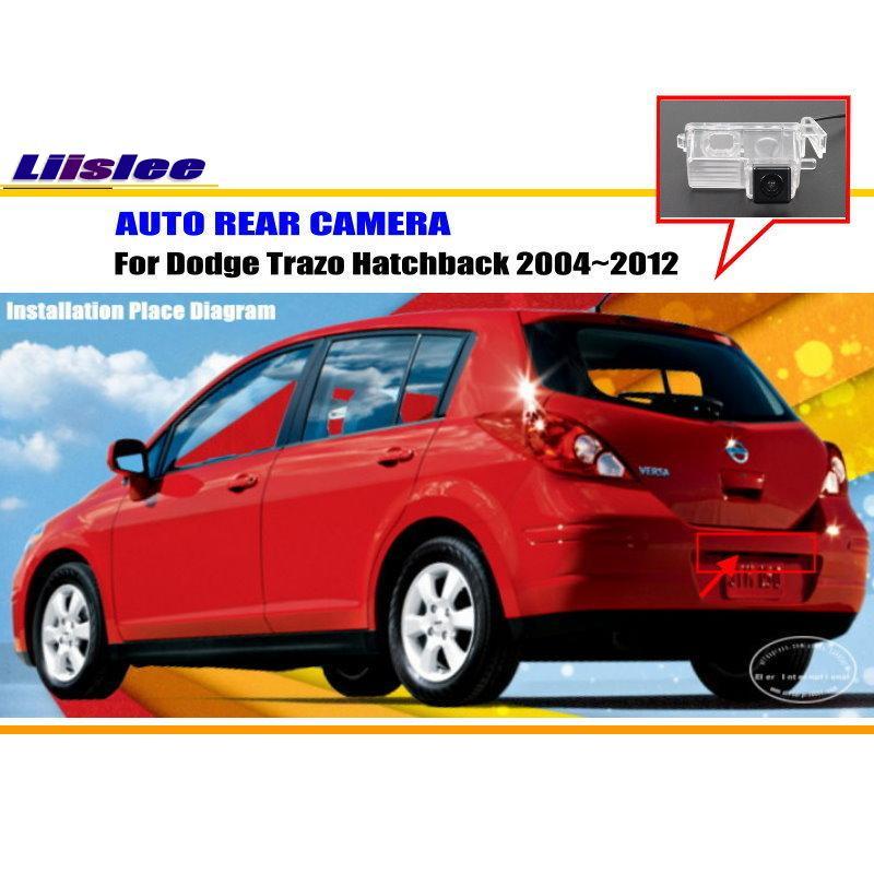 Автомобильная камера заднего вида для Dodge Trazo Hatchback 2004-2012, Автомобильная камера заднего вида, автомобильная HD камера, автомобильные аксессуа...