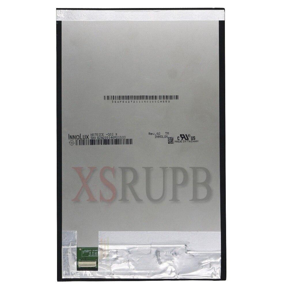 "Nueva matriz de pantalla LCD para 7 ""Irbis TZ742 TZ 742 3G reemplazo de módulo de marco de lente de Panel de Pantalla LCD interna"