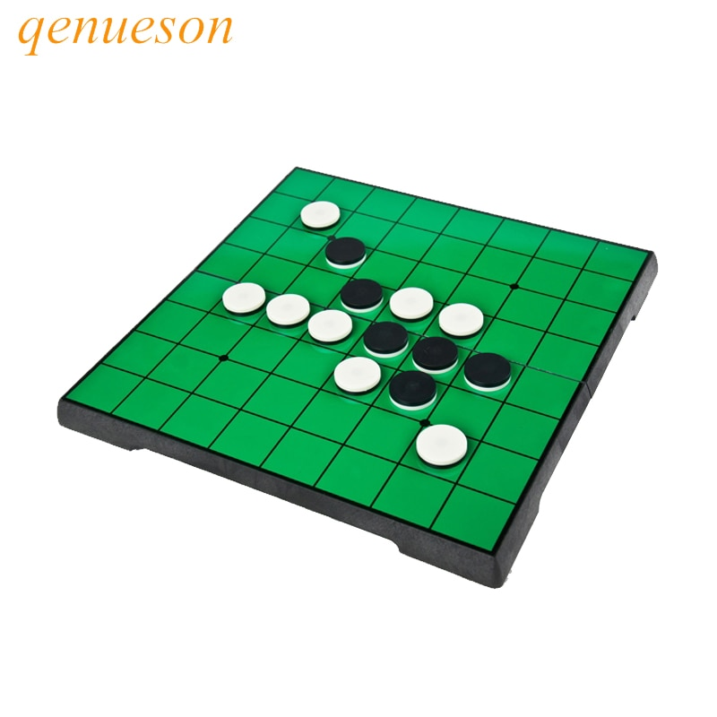 Магнитная портативная Шахматная и складная доска Reversi Отелло, новый запуск, образовательная Семейная Игра для родителей и детей
