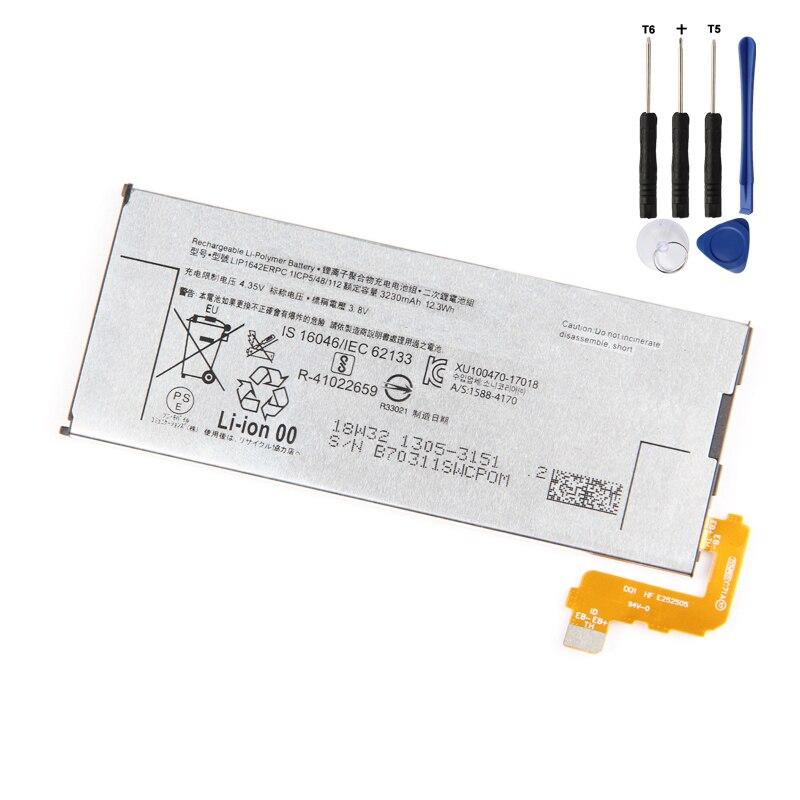 Original  XZ Premium Battery for Sony XZP G8142 G8141 3230mAh LIP1642ERPC