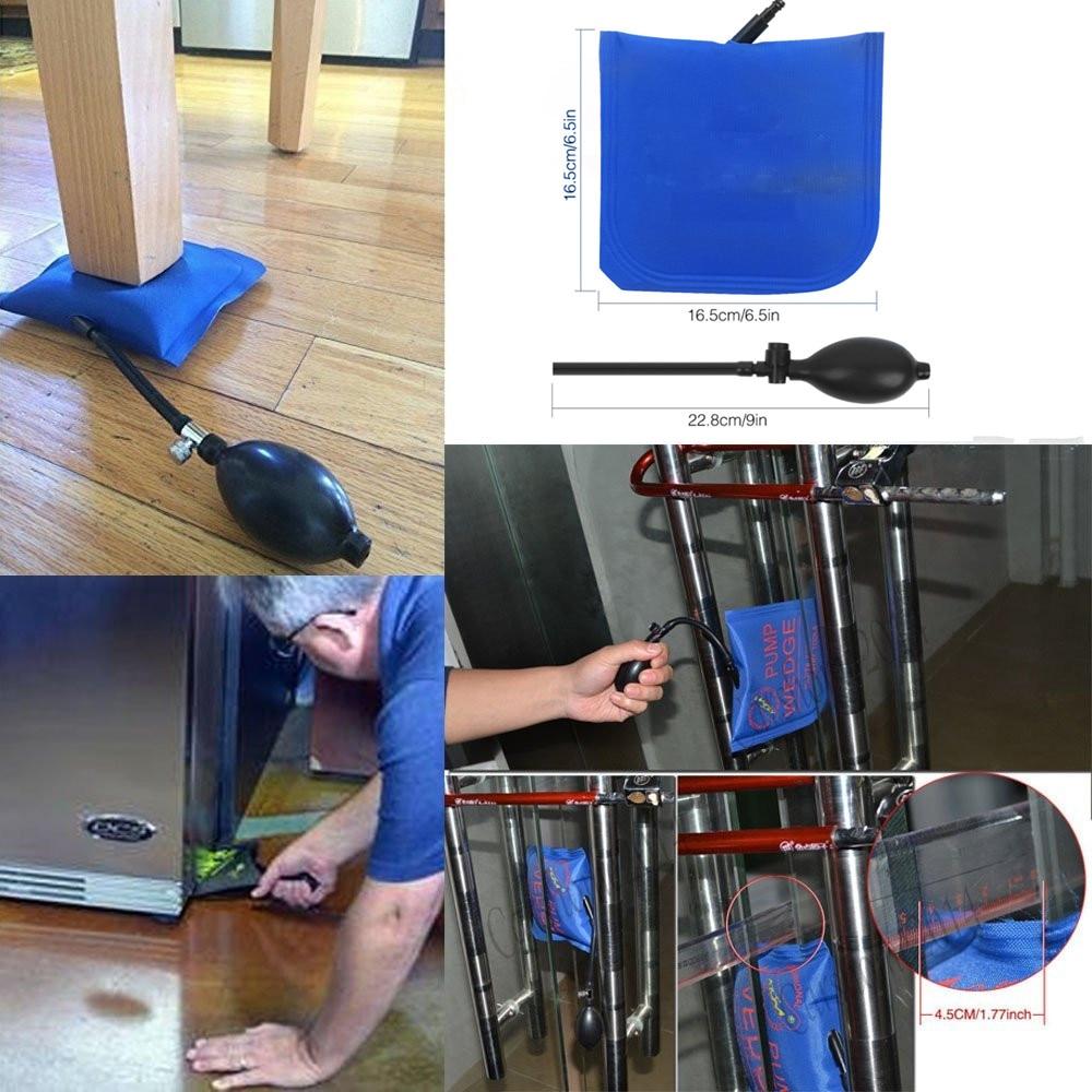 3pcs Hook Rods Paintless Dent Repair Tools Car window protector Window guard Dent removal tools car pump wedge set kit