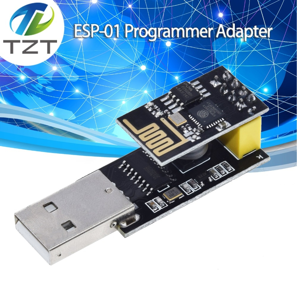Программатор ESP01, адаптер UART GPIO0, ESP-01, адаптер ESP8266, CH340G, USB в ESP8266, Серийный беспроводной Wifi модуль для разработки