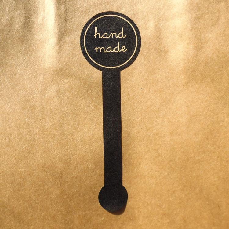 100pcs-stile-lungo-fatto-a-mano-nero-fatti-a-mano-scatola-di-imballaggio-della-torta-di-tenuta-etichetta-kraft-adesivo-di-cottura-fai-da-te-contenitore-di-regalo-adesivi-m1201