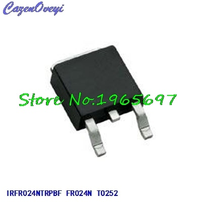 10 pçs/lote IRFR024NTRPBF IRFR024N FR024N PARA-252 Em Estoque