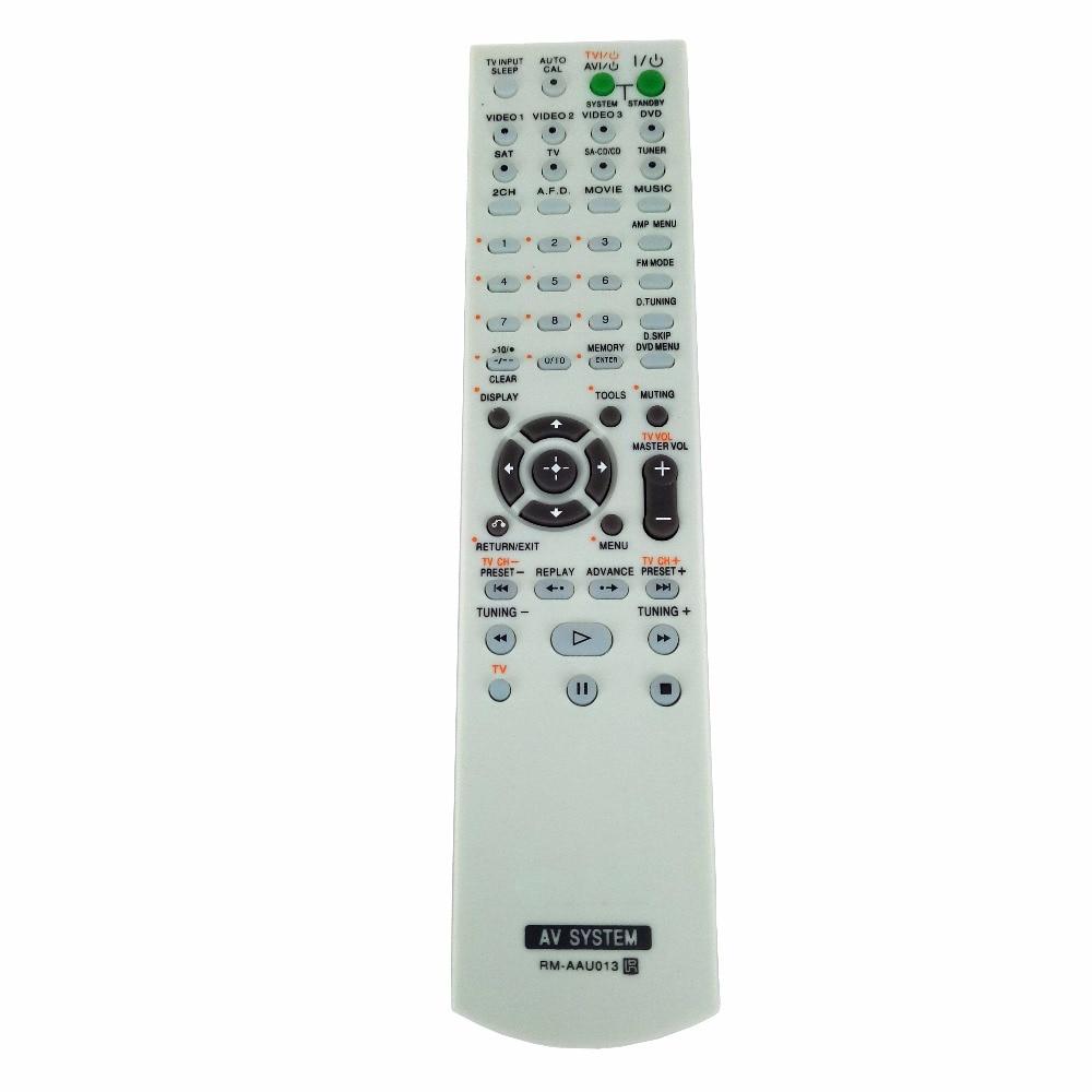Nuevo RM-AAU013 reemplazo para Sony Receptor AV Control remoto para HT-DDW685 HT-DDW790 E15 STRDG500 STRDH100 STRDH500 RM-AAP013