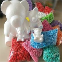 Têtes de roses artificielles 20cm   Ours en polystyrène en styromousse, moule en mousse blanche, cadeaux pour la journée des femmes et pour fille, décoration pour fête de mariage