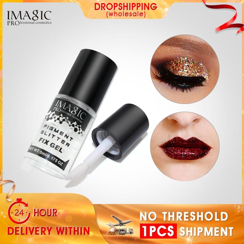 IMAGIC Glitter Glue Eyeshadow Eye Shadow Powder Adhesive Transparent Eye Lash Eyelash Extension Glue For Women Eyes Makeup
