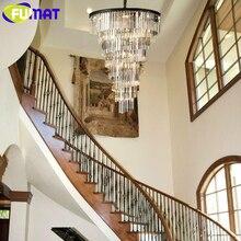 FUMAT moderne lustre en cristal de salon lampe pendante lustres de cristal lumières dintérieur pendentifs en cristal pour lustres
