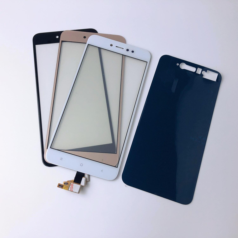 Корпус 5,5 дюймов для Xiaomi Redmi Note 4 Note 4X Note4 ЖК-дисплей дигитайзер Передняя стеклянная панель сенсорный экран сенсор + клей