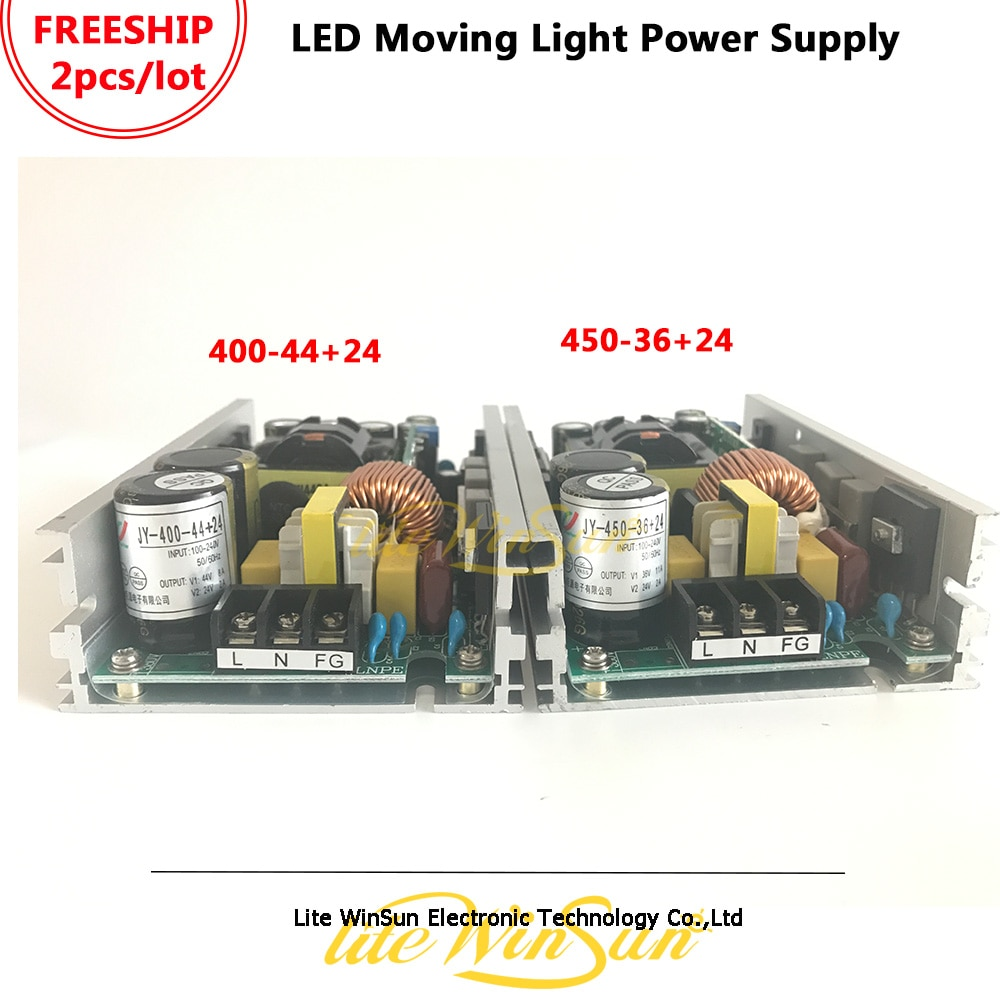 Litewinsune 400W 450W Power Supplier Board Stage Lighting 36*10W LED Wash Moving Head Lighting Power Drive