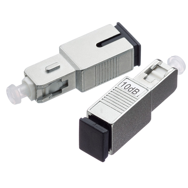 5 pièces/sac SC/UPC mâle à femelle monomode fibre optique atténuateur 2dB 3dB 5dB 7dB 10dB 15dB atténuation optique fixe
