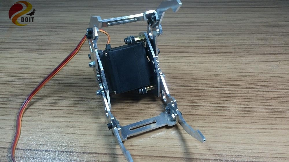 DOIT Metall Roboter Arm Greifer Klaue Clip Robotic Mechanische Manipulator für Robotic Modell DIY RC Spielzeug Auto Tank Chassis