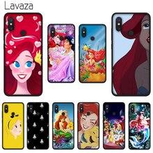 Lavaza princesse Ariel souple coque en Silicone pour Huawei Mate 10 20 P8 P9 P10 P20 P30 Lite Pro P Smart 2019