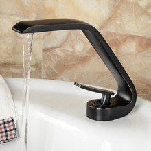 Basin Faucets Modern Bathroom Mixer Tap Brass Washbasin Faucet Single Handle Single Hole Elegant Crane For Bathroom B3283