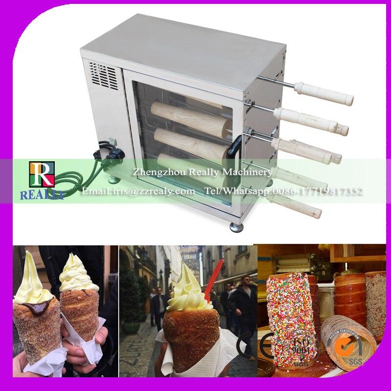 Máquina de hornear, máquina de hornear, máquina de parrilla para pan, tortas, chimenea