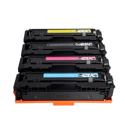 4X kompatybilny CF500X CF501X CF502X CF503X 202X z tonerem wkłady do drukarek HP Pro MFP M281fdw M254dw M281cdw M281dw M280nw M254 M281