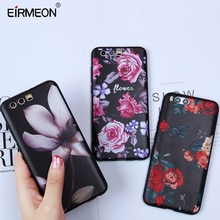 EIRMEON Silicon Case For Honor 9 Huawei P8 P9 P10 P20 Pro Lite 2016 2017 6X 7X 10 Lite Nova 2 Plus Matte Soft TPU Floral Covers