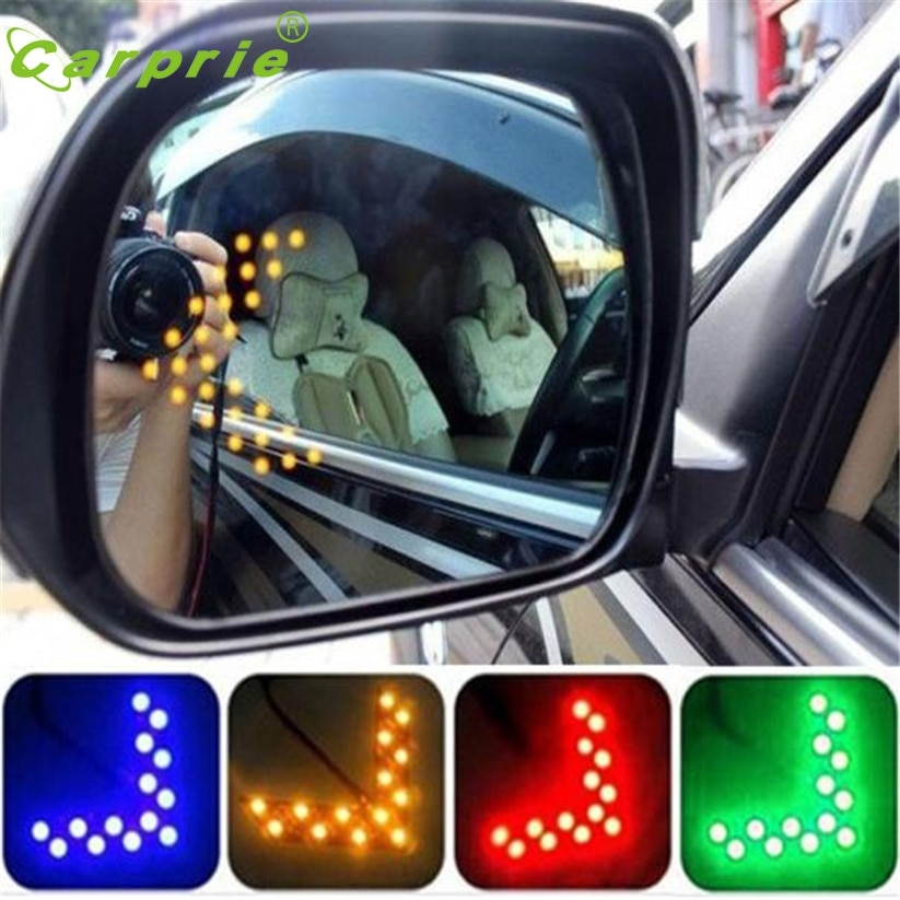 LEDs CARPRIE de estilo de coche, panel de flechas, diodo emisor de luz para espejo retrovisor del coche, luz td23, dropship