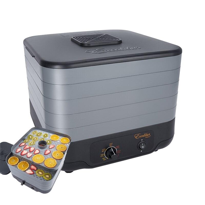 ECB52B-C 5 طبقات الفاكهة و الخضار الجفاف آلة الهواء تجفيف الفاكهة آلة الغذاء مجفف 220V 380W 1 قطعة