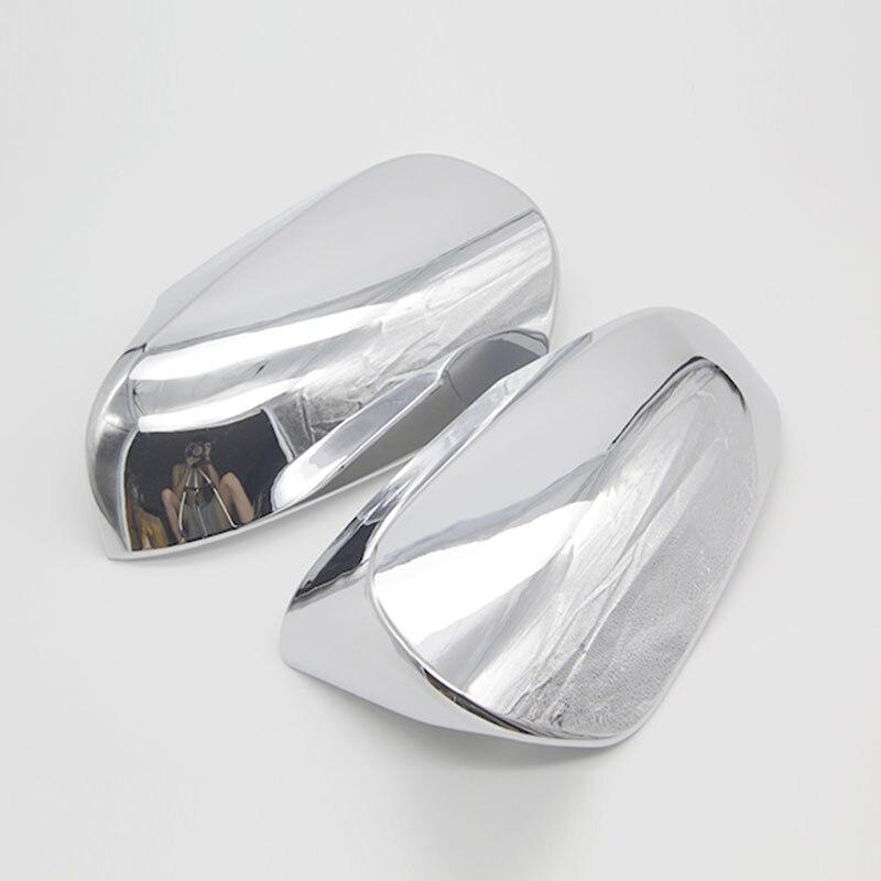 Para Toyota Camry 2015 2 unids/set ABS cromado cubierta de espejo retrovisor de puerta Trim Protector moldura accesorios Auto Parts