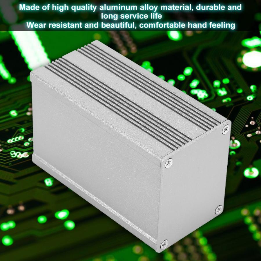 Корпус проекта Корпус печатная плата инструмент Алюминиевый электронный охлаждающий ящик DIY Алюминиевая коробка распределительная коробка