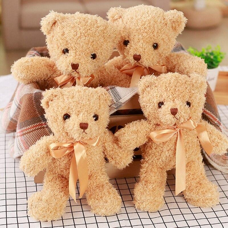 1 STÜCK Schöne Teddybär Plüsch Puppe Kawaii Angefülltes Weiches Tier bär Spielzeug für Kinder Baby Kinder Geburtstagsgeschenk valentinstag Geschenk 30 CM