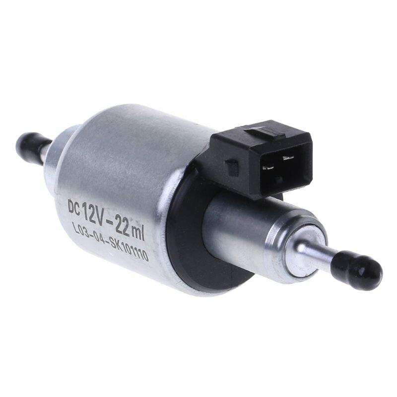 Bomba de combustible de aceite de coche 12V para 2KW a 5KW para calentadores Webasto Eberspacher, reemplazo automático de hierro, rendimiento estable