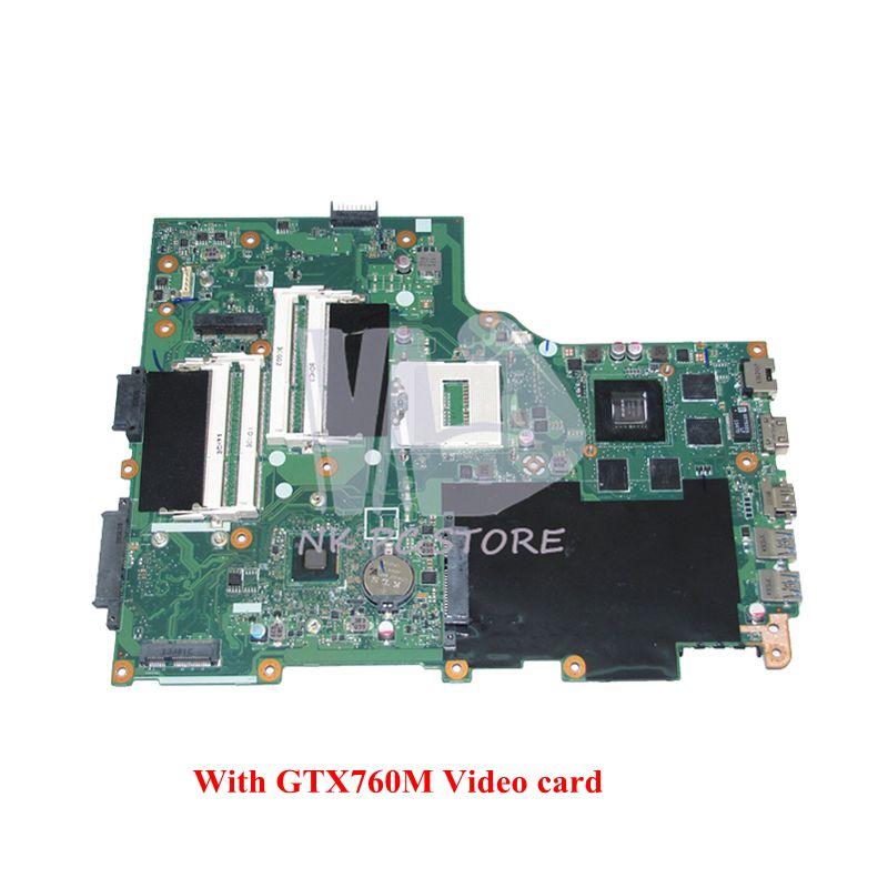 NOKOTION VA70HW Tablero Principal para la placa base del ordenador portátil Acer aspire V3-772G DDR3 GTX760M tarjeta de vídeo GDDR5