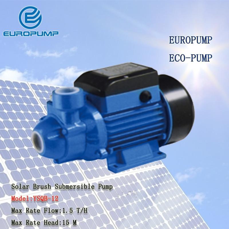 EUROPUMP MODEL(YSQB-12) Free Shipping Professional Supplier of Solar 12V DC Water Pump/Solar Powered Water Pump
